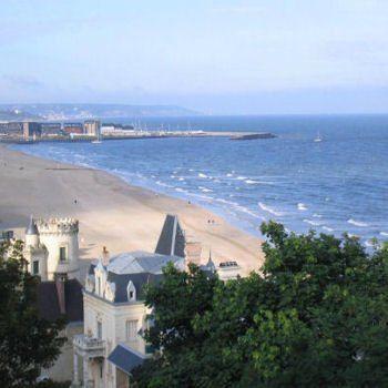 corniche de trouville-sur-mer.