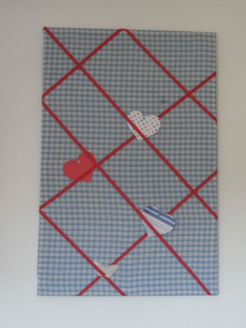 pin board revamp by Craft with Ruth Cartwright