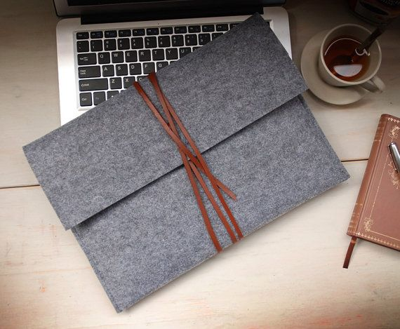 Felt  macbook 13 cover  macbook 13 sleeve macbook sleeve  door feltk, $25.00