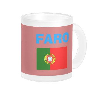 Faro* (Portugal) Airport FAO Code Mug; www.zazzle.com/airports*