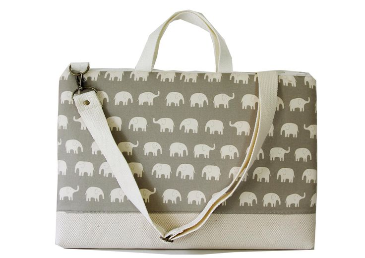 "15"" Macbook or Laptop bag with handles and detachable shoulder strap- Gray elephant -Ready to ship by Womensgirl on Etsy https://www.etsy.com/listing/85105630/15-macbook-or-laptop-bag-with-handles"
