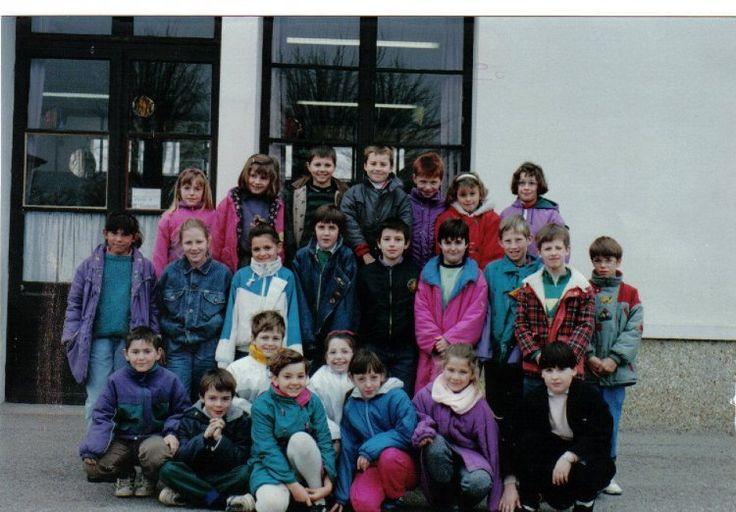 Photo de classe Classe de CM1 de 1990, Ecole Augustin Fresnel (broglie) - Copains d'avant