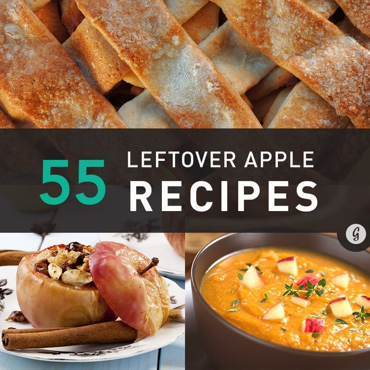 55 Creative Uses for Leftover Apples #leftovers #healthy #recipes #greatist