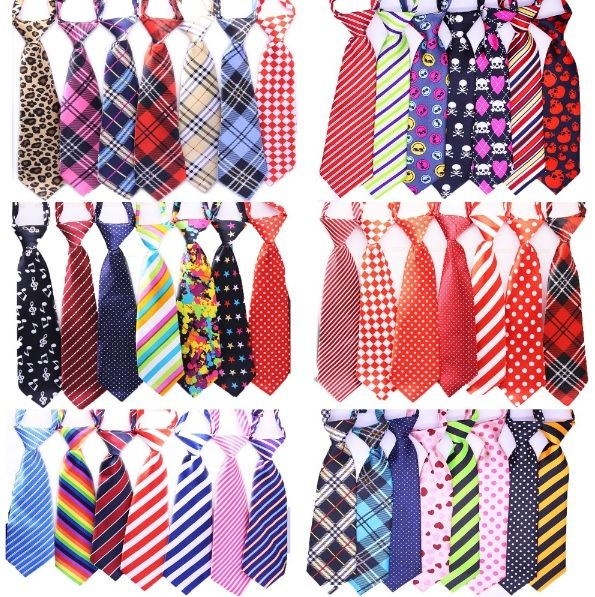 "Large+Dog+Ties  Adjustable+Neck+Size+approx:+15-23""+ Tie+Length:+11""+ Tie+Width:+2.8''+  Condition:+Brand+New+-+Handmade+ Light+weight+&+comfortable!  Material:+Polyester,+Plastic+Clip+Closure  ✿+Ties+are+for+fashion+purposes+only.+Please+supervise+your+pet+while+wearing+any+accessories+✿"