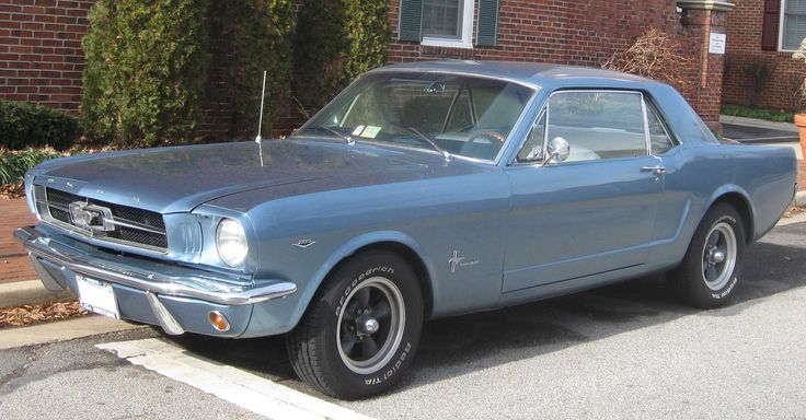 Ford Mustang 1964 (first generation) - Wikipedia, the free encyclopedia