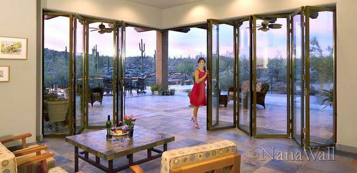 Good solution for my desire for an all-weather porch! Exterior ... Good Solution For My Desire For An All Weather Porch! Exterior & Collection Nanawall Folding Door Pictures - Images picture are ideas Pezcame.Com
