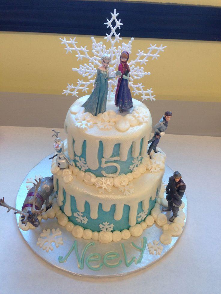 Frozen Cake Elsa Mappe Pinterest