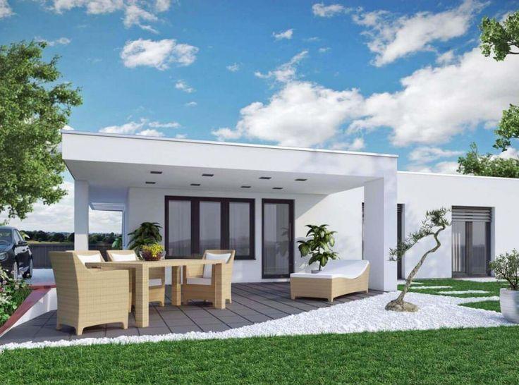 12 best fertighaus bungalow lifetime moderne for Mini bungalow fertighaus