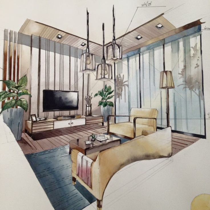 Bedroom One Point Perspective Bedroom Interior Paint Bedroom Chairs With Footstool Bedroom Paint Colours Blue: 645 Best Images About Interior Perspective On Pinterest