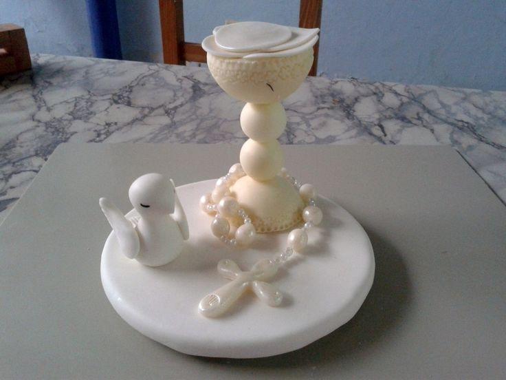 souvenirs para confirmacion en porcelana fria - Buscar con Google