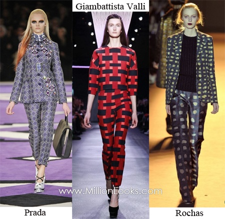 Bold eye catching suits