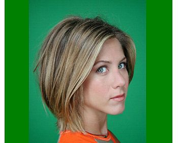 My bob will probably grow out to look like this in about a month. :) Long layers in the front, shorter layers to give lift in the back.
