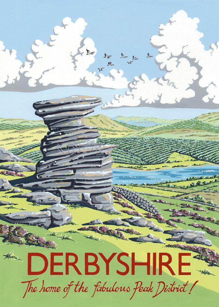 Salt Cellar Rock, Derwent Edge, Derbyshire Art Print by Kelly Hall at King & McGaw