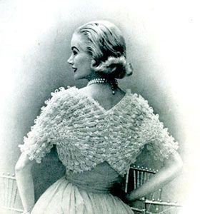 Fan Sleeved Shrug (Pattern)