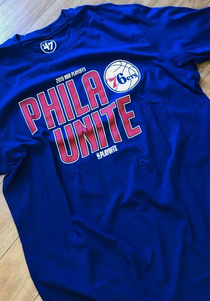 online retailer 4d141 038fc 47 Philadelphia 76ers Blue PHILA Unite Super Rival Short ...
