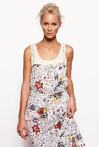 Fleur Wood Dress