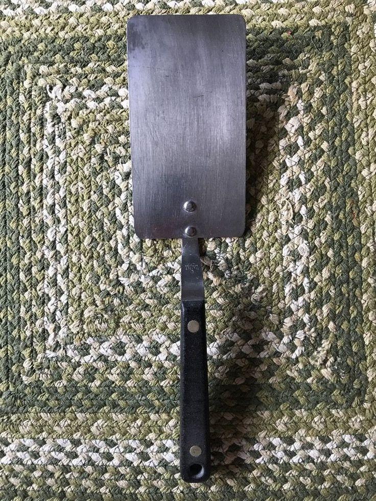 Flint Arrow Spatula Extra Long Turner Black Handle  | eBay
