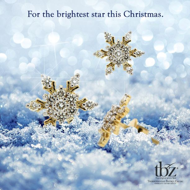 What do you think of this #beauty? #TBZ #Diamond #Earrings #Jewellery #Celebration #Christmas