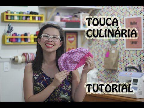 Mulher.com 08/05/2015 Edileny Gomes - Touca cozinheiro em tecido Parte 1/2 - YouTube