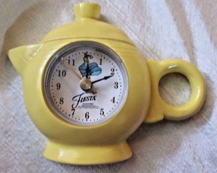 126 Best Fiesta 174 Homer Laughlin China Clocks Amp Clock