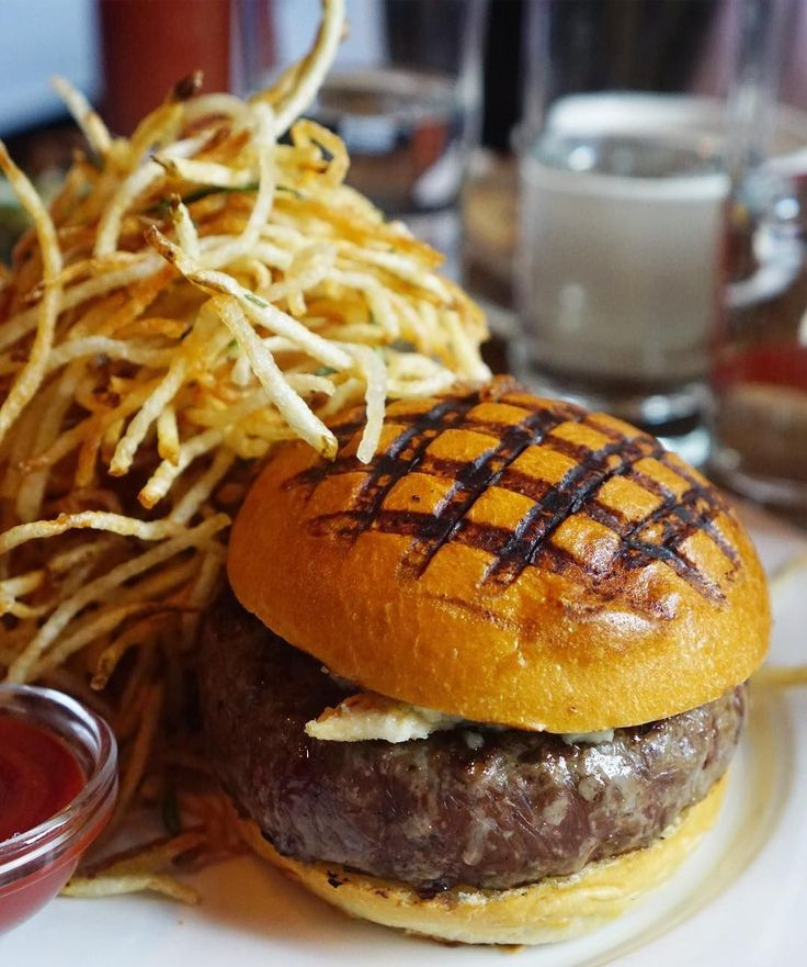"The All-Time BEST Burgers In NYC #refinery29  http://www.refinery29.com/best-burgers-nyc#slide-2  Spotted PigApril Bloomfield's famed West Village gastropub is home to one of NYC's most famed burgers — go figure! If you happen to snag a table, firstly congratulations and I applaud your resolve. And secondly, order the chargrilled burger with Roquefort cheese and shoestring fries. At $25 dollars, it's pricey but wholeheartedly worth it. <a href=""http://www.thespotte..."