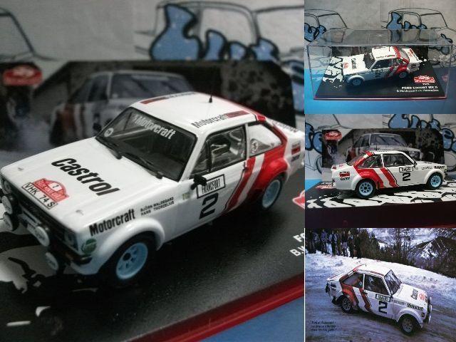 Ford Escort MK II  Rally Monte-Carlo 1979 - Ixo/Altaya 1:43