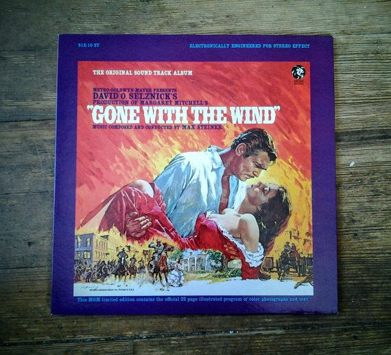 mens nike shox turbo  for sale   Gone with the Wind Original Soundtrack Album with  Page Program Record S E  ST MGM Records