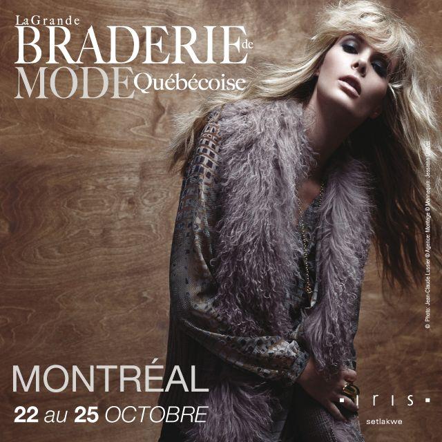 Rendez-vous cette semaine pour la Grande Braderie de Mode Québécoises à #Montréal #BMQ2015 #mode #fashionista
