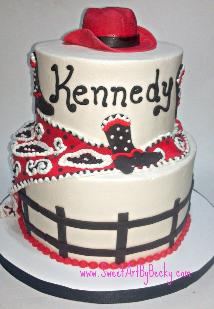 345 Best Western And Rodeo Cakes Images On Pinterest