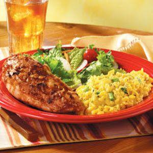 Roasted Chicken Au Jus With Cheddar Broccoli Rice  LIPTON RECIPE SECRETS