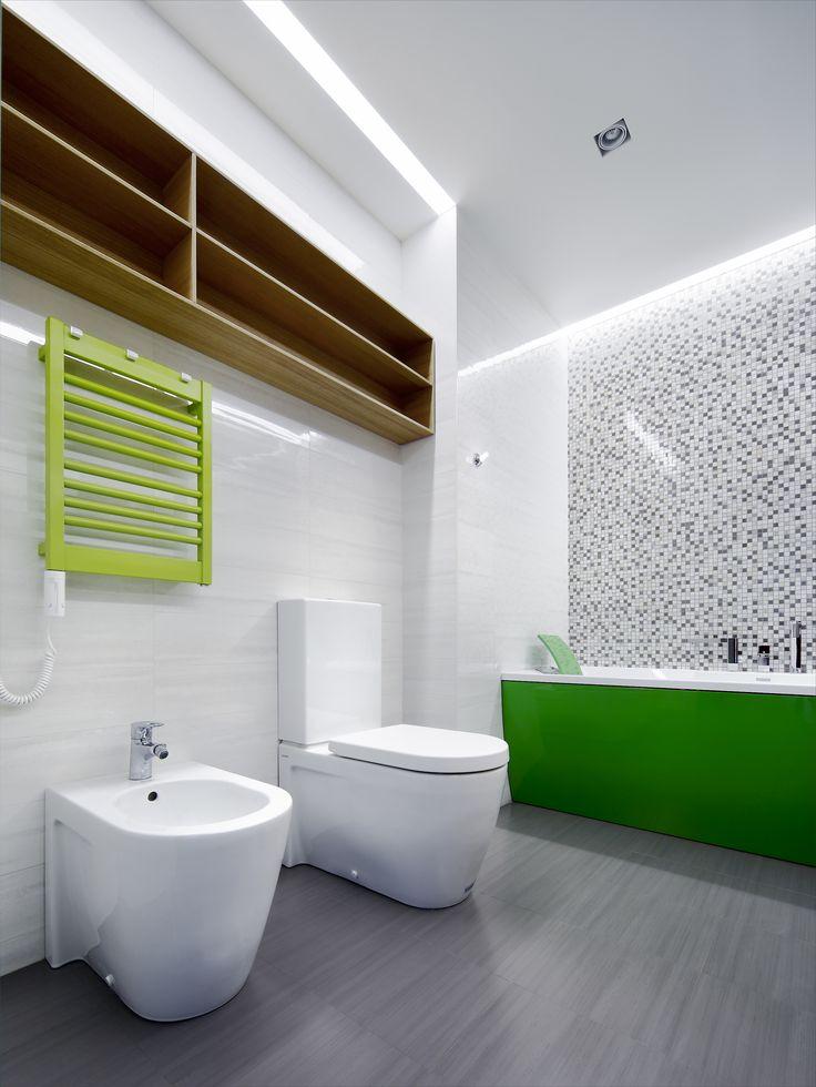 AkhunovArchitects, детская ванная комната, Дизайн интерьера в Перми и не только
