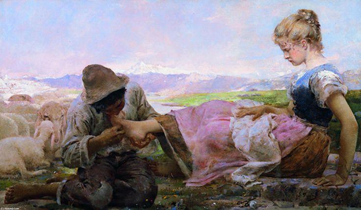 Arte & pensiero: Opere di Giovanni Segantini