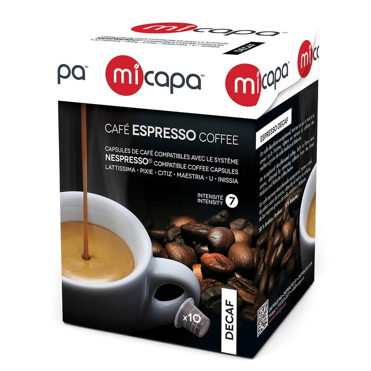 Personal Edge : Micapa DK-001-10 Decaf Coffee Pods
