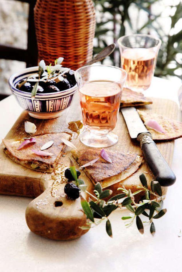 Quesadilla på grekiska - Mitt kök