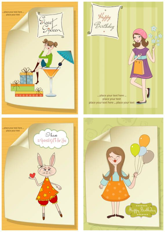 17 Best ideas about Birthday Card Template – Birthday Card Format