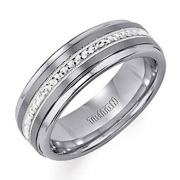 TRITON Tungsten Carbide and Sterling Silver Band | Shop REEDS Jewelers