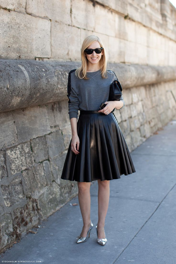 jane-keltner-leather-pleated-a-line-skirt