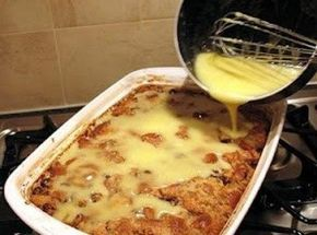 Grandma's Old-Fashioned Bread Pudding with Vanilla Sauce You May Like