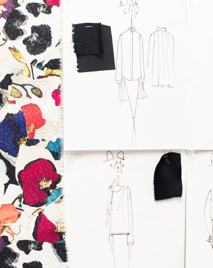 A Look Inside Designer Jonathan Cohen's Studio and FW '17 Collection: With admirers ranging from Cipriana and TK Quann to Karlie Kloss and Lupita Nyong'o, Jonathan's designs are captivating and mysterious. -- Fashion Sketches  |  coveteur.com