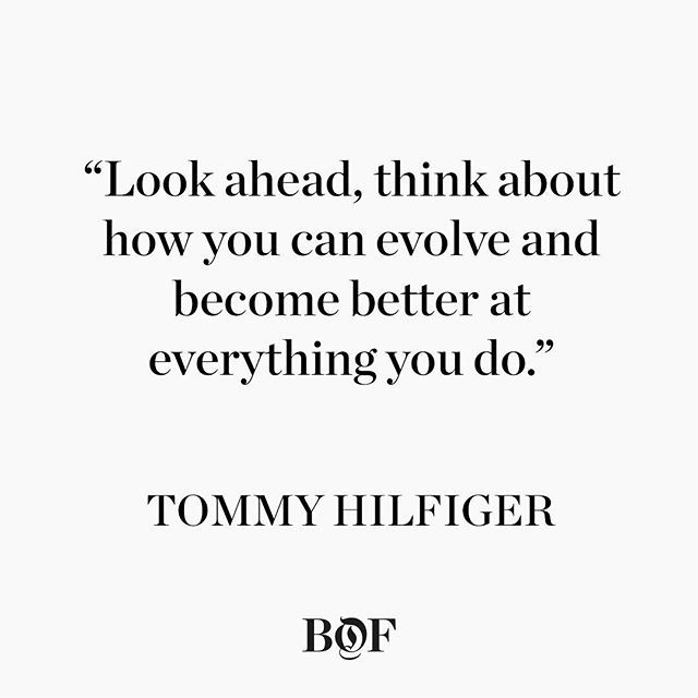 WEBSTA @ bof - As Tommy Hilfiger celebrates his 66th birthday today, discover how the American fashion designer built his global empire. [Link in bio] #qotd #quoteoftheday