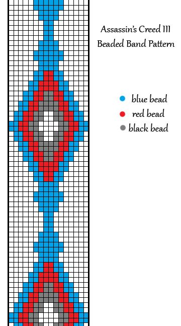 AC3 beaded band pattern by ~allikat on deviantART
