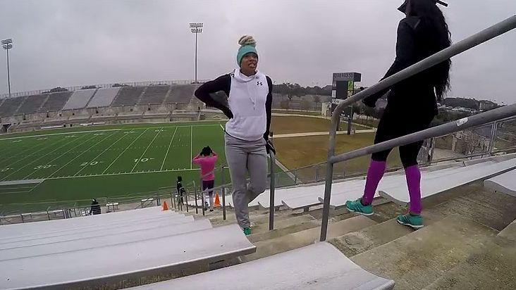 #WorkoutWednesday:+Natasha+Hastings+posts+video+of+her+intense+workout+on+stadium+steps