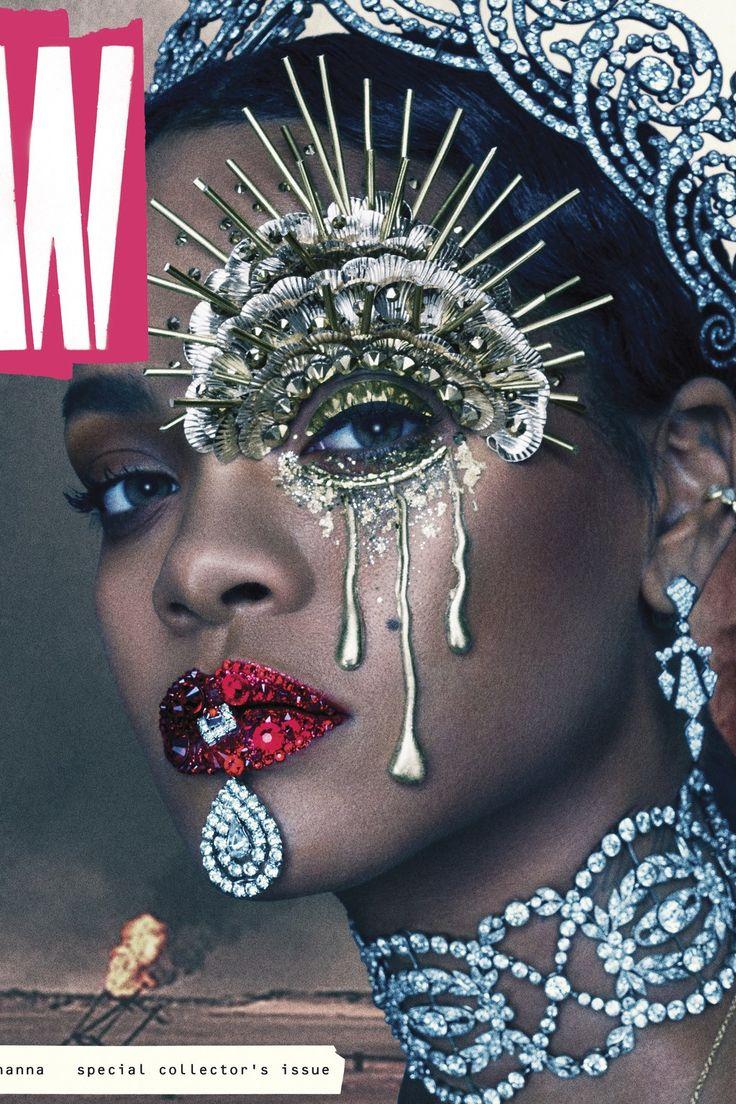 Si la fin du monde devait arriver prochainement, voici le look que Rihanna, rare…