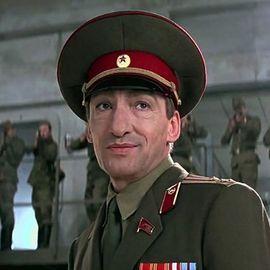1995 GoldenEye General Ourumov  (Gottfried John)