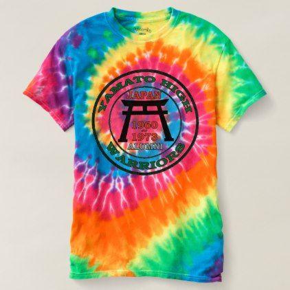 Yamato High School Japan Warriors T-shirt - individual customized unique ideas designs custom gift ideas
