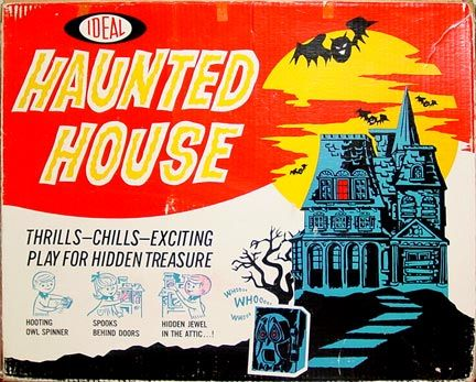 The Haunted House Game by Ideal (1960s)