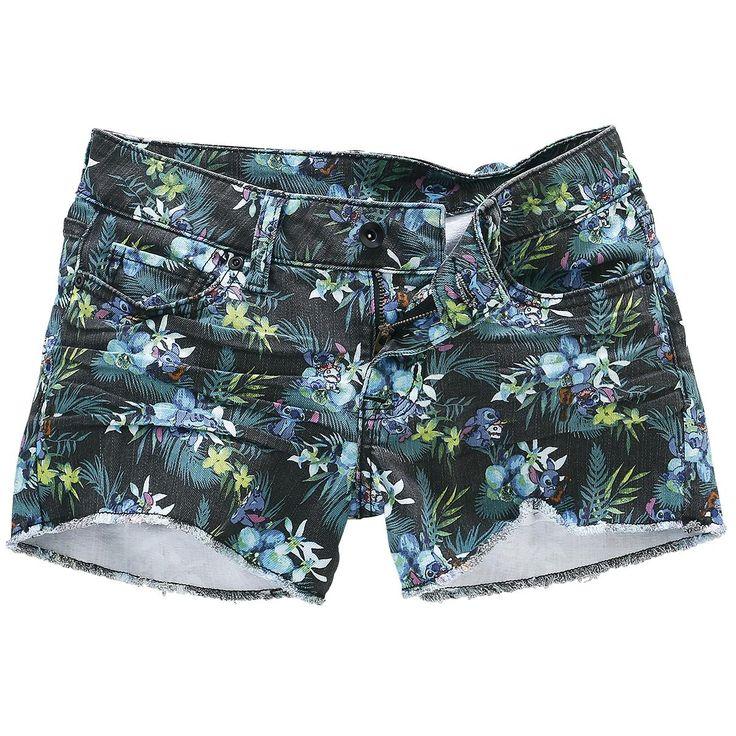 "LILO & STITCH ""Stitch Gem"" shorts"