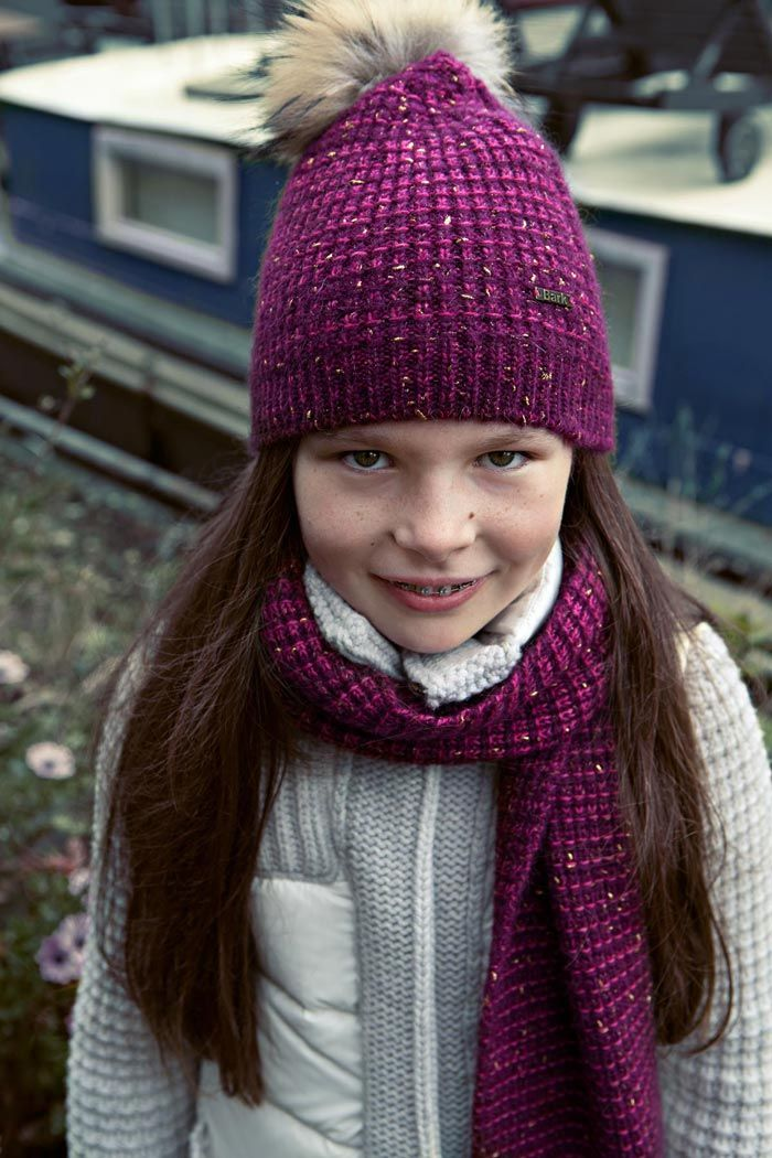 KIDS COLLECTION F/W 14-15 | Bark™ KNITWEAR SCARF AND CAP