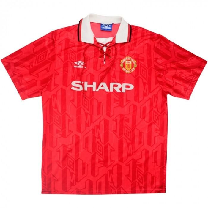 Manchester United Fu/ßball Polo Short Sleeve