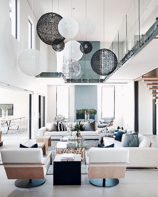 Pin By Mb On Home Luxury Living Room Modern Houses Interior Home Living Room